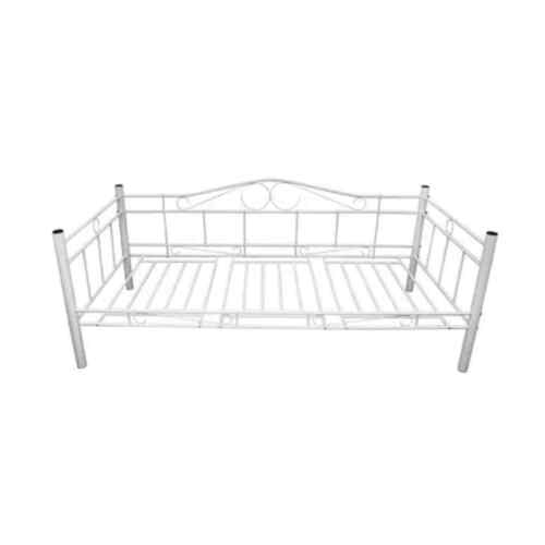 Neu Tagesbett Einzelbett 90x200 Metallbett Metall Bett Bettgestell Bett Sofa