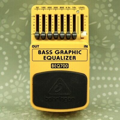 Behringer BEQ700 Bass Graphic Equalizer Guitar effect pedal (S170902292400)