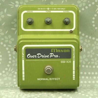 MAXON OD-820 Overdrive Pro Made in Japan Guitar effect pedal (002I7016)