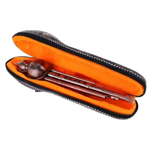 C-Key Kupfer Hulusi Kürbisflasche Flöte Musikinstrument Chinesisch
