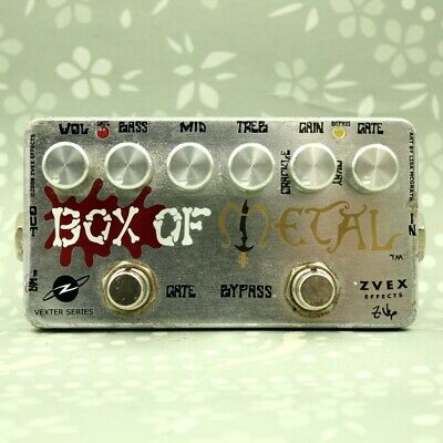 ZVEX BOX OF METAL Vexter Distortion Guitar effect pedal (BM0921)