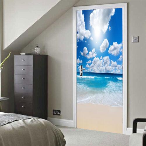 Selbstklebende Kühlschrank Aufkleber Wandbild Türaufkleber Türbilder Home