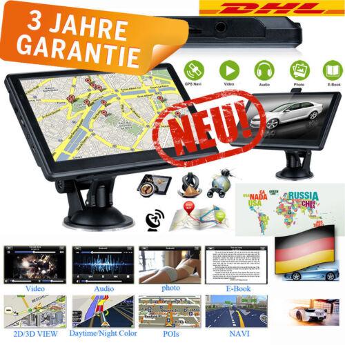8GB 7'' Zoll Touch Screen Auto LKW GPS Navigation Navi Navigationsgerät Europa