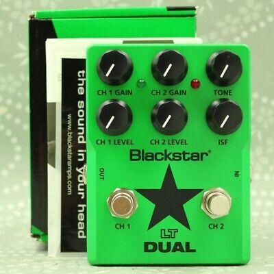 Blackstar LT DUAL With original box Distortion Guitar effect pedal 140107JZA358