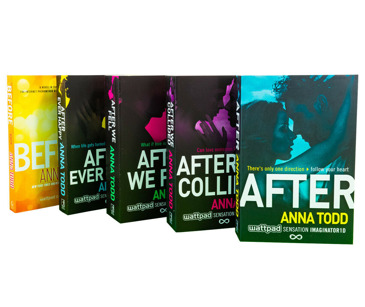 Anna Todd 5 Books After Series Collection Box Set