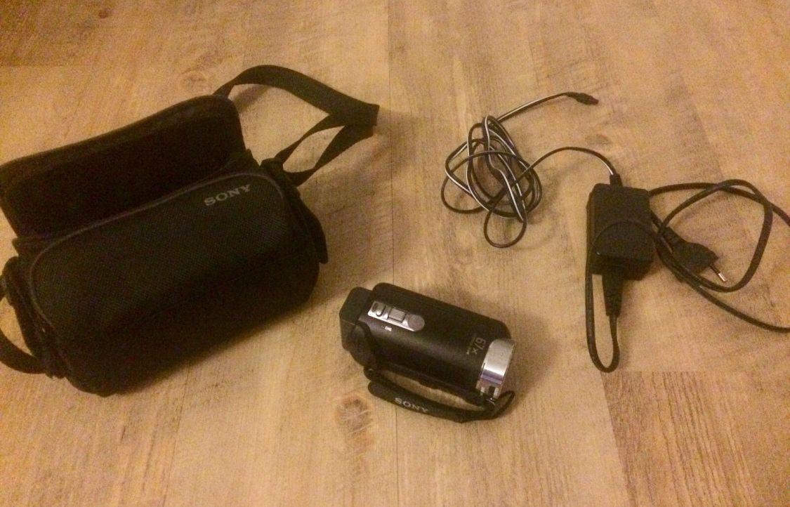 Sony DCR-SX 21 E Camcorder Black - 67 Fach Zoom - Foto Funktion Video Kamera TOP