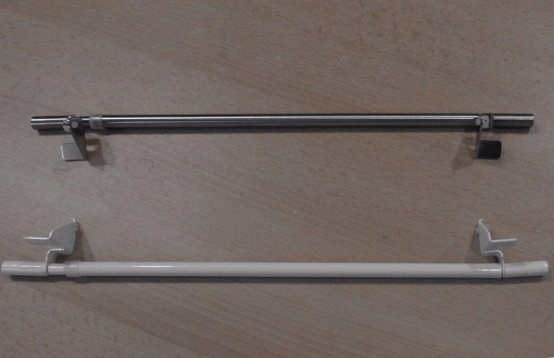 Klemmstange easy Scheiben-Gardinenstange ausdrehbar 30-110 ohne Fenster Bohren