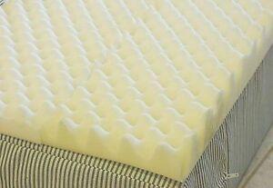 4 Inch Foam Twin Bed Pad Mattress Egg Crate 72 L X 34 W