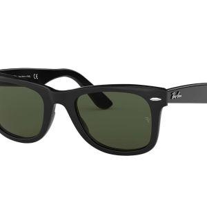 Occhiali da sole Sunglasses Ray-Ban Wayfarer 50-22 Nero Lucido Nuovi New