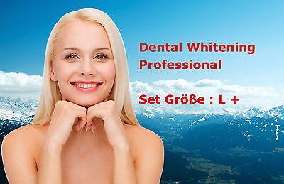 Profi Bleaching Gel Set, Gr.L+ Zahnweiß Zahnaufhellung Weiße Zähne Zahnbleaching