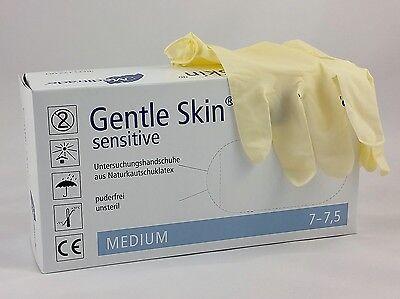 Gentle Skin Sensitive Latex-Untersuchungshandschuhe 10 x 100 Stück