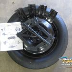 2014 2020 Jeep Cherokee Replacement Spare Tire Kit New Mopar Oem Ebay