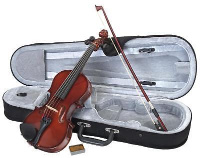 Geige Violine Set 1/2 Größe Violinenset Geigenset Kindergeige Schülergeige