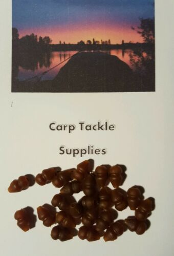 Heli-beads-Muddy-Colour-Rubber-Beads-25-Per-Pack-Carp-Fishing