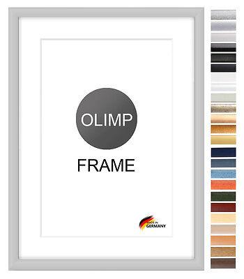 Bilderrahmen Antireflex 8 Farben mix Format DIN A Foto Poster Rahmen Top 4 Neu