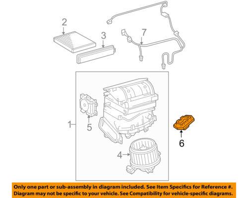 TOYOTA OEMBlower Motor Resistor 8713826160 | eBay