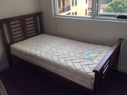 King Single Bed Pillow Top Mattress