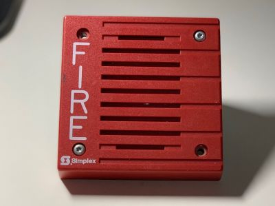 Simplex 4901-9805 Fire Alarm Remote Horn Electromechanical