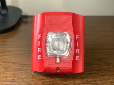 System Sensor SRK Fire Alarm Remote Strobe Red Wall (No Mounting Bracket)