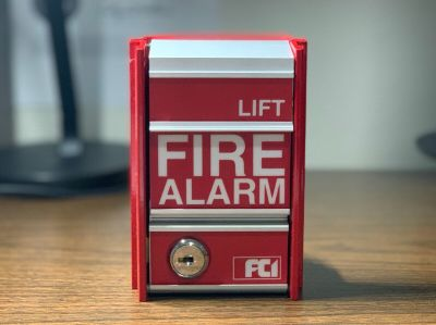 *GREAT CONDITION* FCI MS-2 Fire Alarm Pull Station