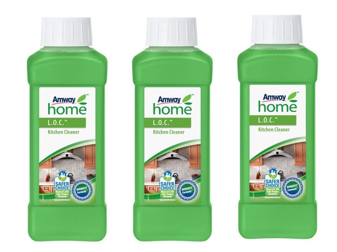 3x Amway Home L.O.C.™ Küchenreiniger (3x 500ml),Leistungsstarke konzentrat