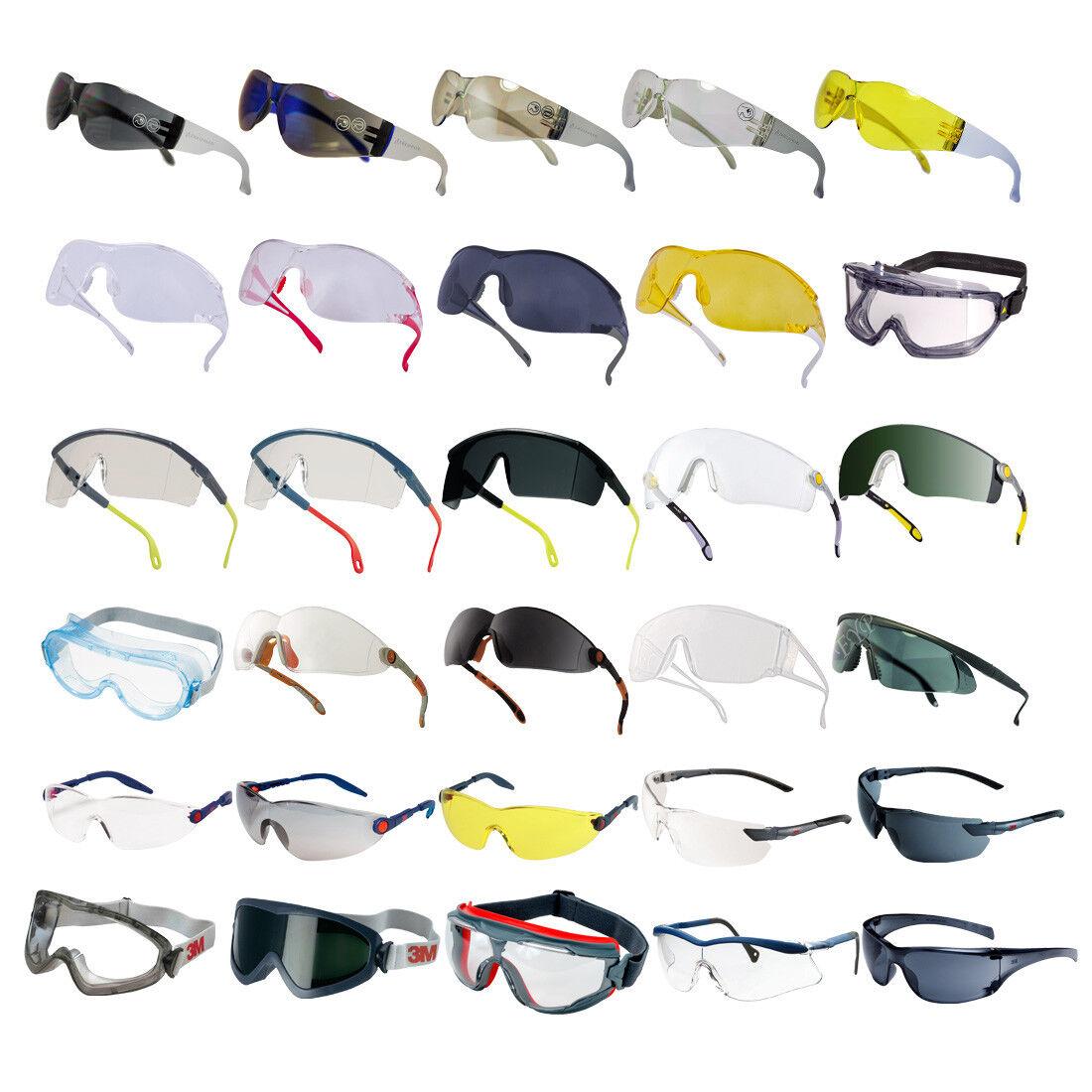 Schutzbrille Arbeitsschutz Augenschutz Sicherheitsbrille Radbrille Sport 3M