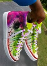 Custom Converse Allstars Size 9 Men