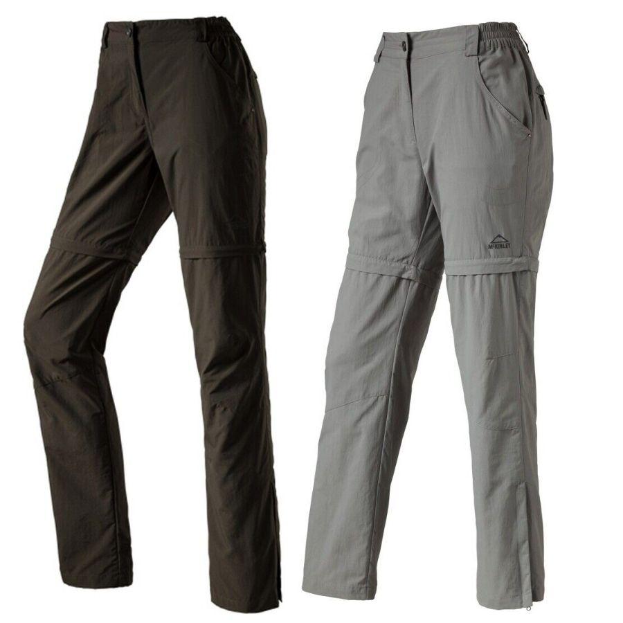 McKinley Damen Wander Trekking Outdoor Hose Belfast 2 Abzipphose Shorts Dry Plus