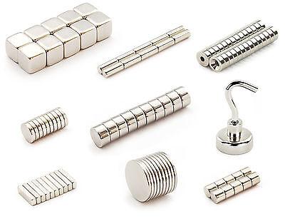 Neodym Magnete nach Wahl - Größe und Stückzahl wählbar - Starke Super Magnete