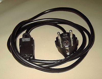 Kaltgerätekabel / Computernetzkabel ca.1,5 m + 3 verschiedene Computer-Adapter,