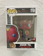 Funko POP! Exclusive Marvel WandaVision 70s Vision Bobble-Head Figure #718 NEW