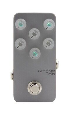 """HOTONE """"XTOMP Mini"""" Bluetooth-enabled Selectable Effects Pedal"""