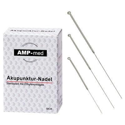 Akupunkturnadeln mit Silbergriff, Akupunktur