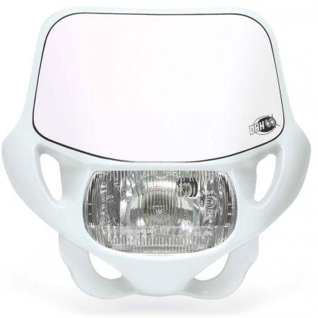 mascherina portafaro fanale Acerbis Dhh omolog. colore bianco moto cross enduro