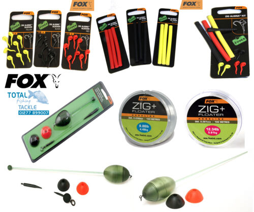 Fox-NEW-Carp-Fishing-Zig-Rig-Terminal-Tackle-Complete-Range