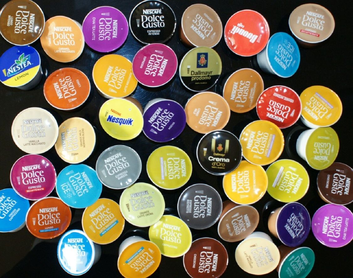Nescafé Dolce Gusto Probierpaket Probierset 58 (57)  Kapseln 44 Getränke Kaffee