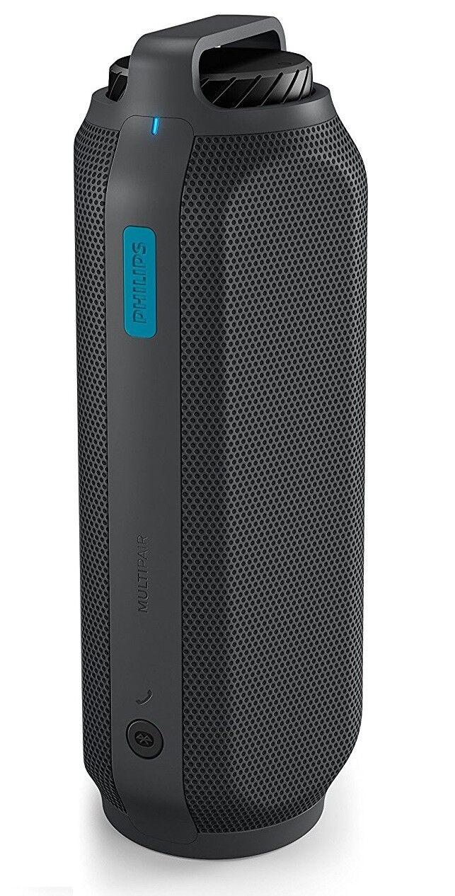PHILIPS BT 7700 B/00 Bluetooth Box mobiler Lautsprecher Multipair Power bank NEU