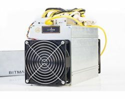 2 months old Bitmain Antminer L3+ 504 MH/s Scrypt/Litecoin Miner with PSU