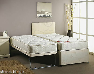 3ft Single Guest Bed 3 In 1 With Mattress Pullout Trundle Est On Ebay