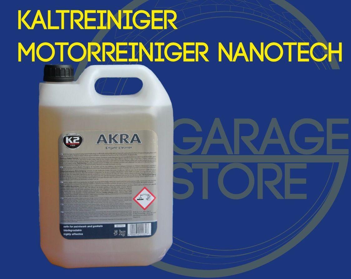 5L Akra Kaltreiniger Werkstatt/Teilereiniger Motorreiniger  Motorwäsche