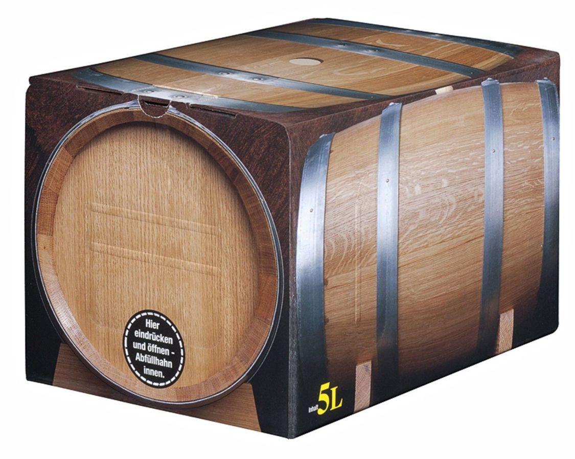 Pfälzer Dornfelder Rotwein halbtrocken 1 x 5 L Bag in Box vom Winzer