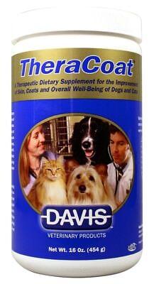 Theracoat Nahrungsergänzungsmittel Pulver für Hunde & Katzen (473ml)