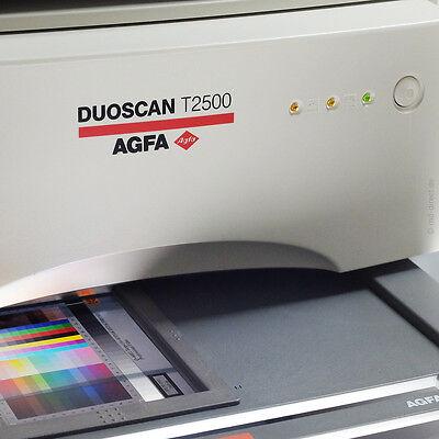 AGFA T2500 HiRes-Negativ-/Diascanner Mittelformat Panorama etc. glaslos scannen