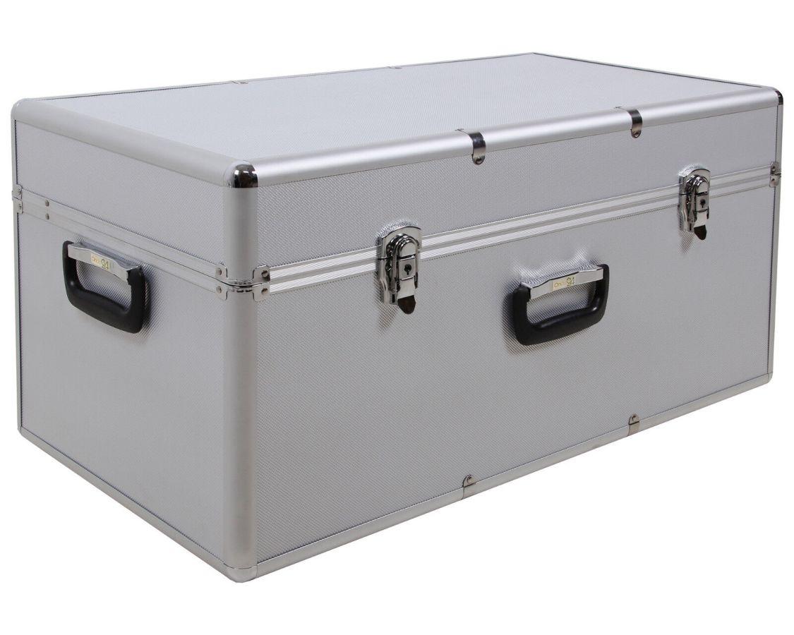 Ondis24 Alukoffer silber Werkzeugkoffer Transportkoffer Aufbewahrungskoffer Alu