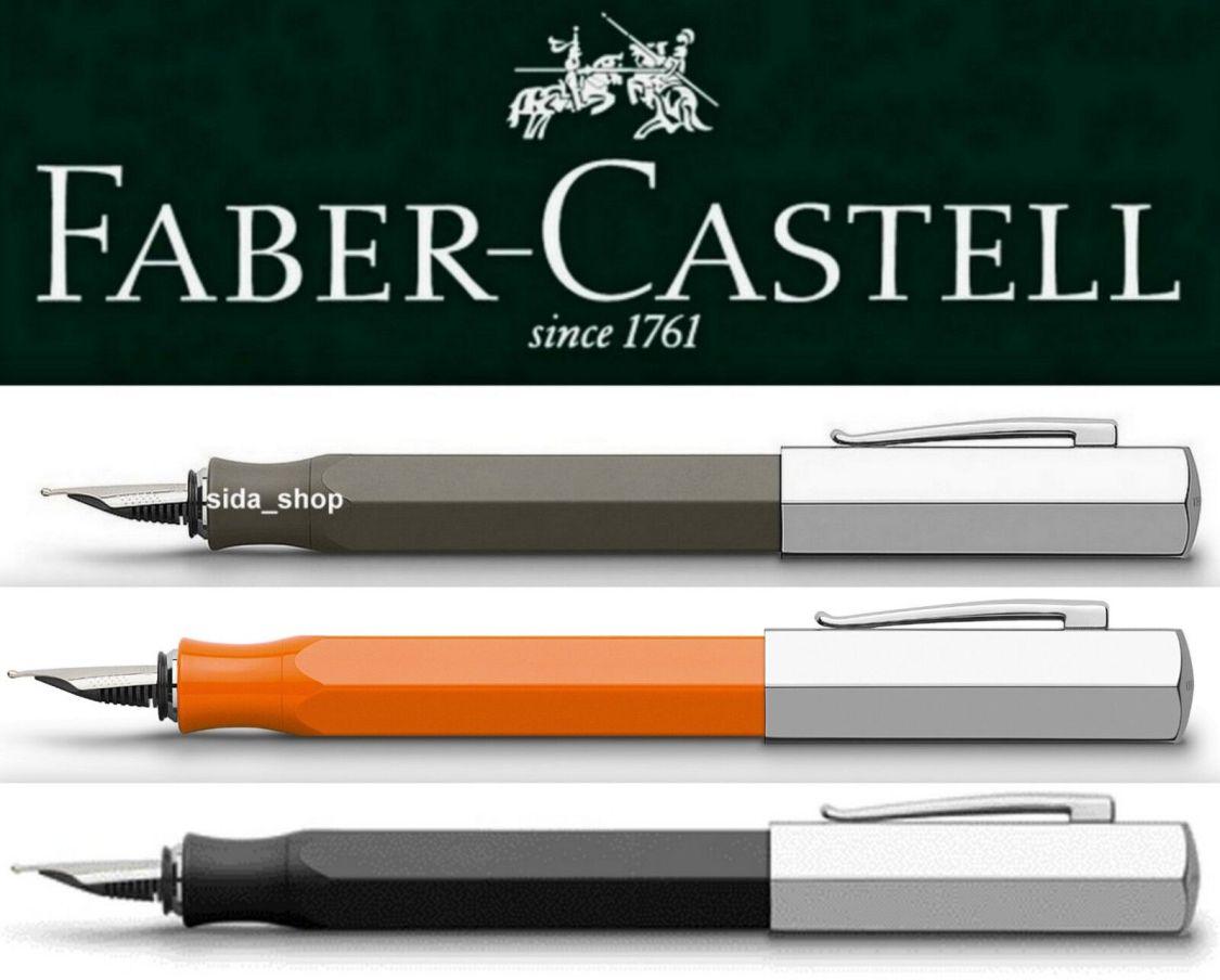 Faber-Castell ONDORO Füllfederhalter Füller graubraun orange schwarz !bestprice!