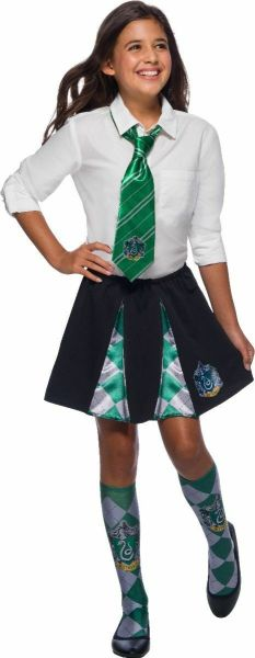 Rubies Harry Potter Slytherin Hogwarts Girls Halloween Costume Skirt 39030 2