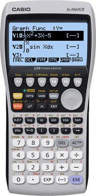 Casio FX9860 G II Grafikrechner - Taschenrechner mit grafischer Anzeige