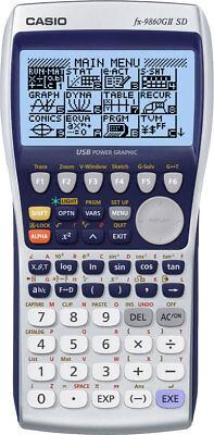 Casio FX9860 G II SD Grafikrechner - Taschenrechner mit grafischer Anzeige