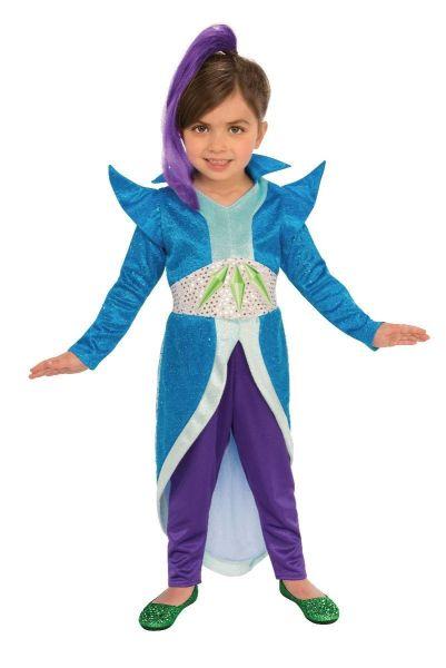 Rubies Shimmer & Shine Zeta Cartoon Child Girls Halloween Costume 640115 2