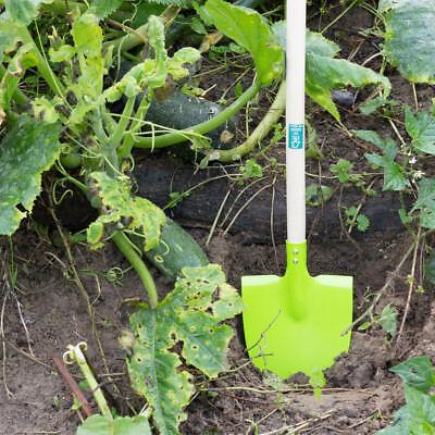 Gartengeräte für Kinder, Spaten, Schaufel in grün